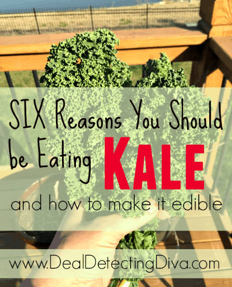 six reasons to eat kale