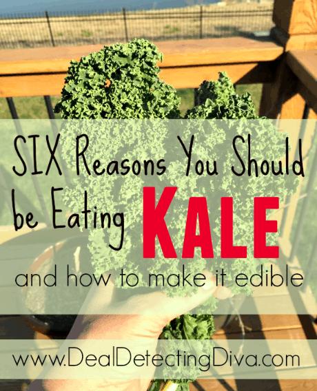 six reasons to eat kale