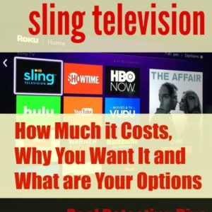 Watch LIVE Sports and More with Sling TV: How Much it Costs, Why You Want It and What are Your Options