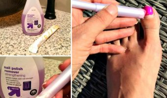 Use a Tampon to Remove Nail Polish