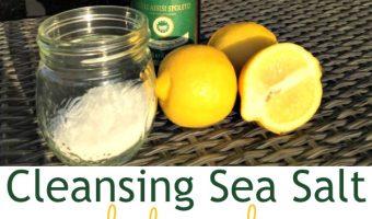 3-Ingredient Cleansing Sea Salt Body Scrub