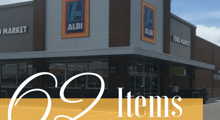 Why You Should Shop at Aldi  + 62 of their Best Items to Buy