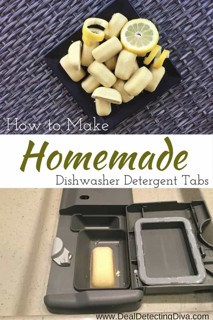 How to Make Homemade Dishwasher Detergent Tabs