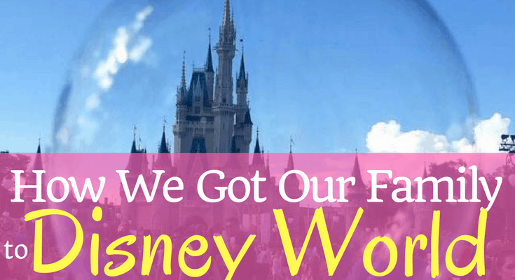 How We're Getting Our Family of Four to Disney World for Less than $1,000