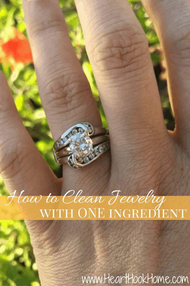 How to Clean Jewelry at Home - Using just ONE or TWO Household Items!