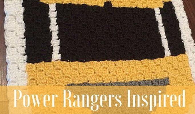 Power Rangers C2C Crochet Graphgan Pattern – Block by Block (Yellow)