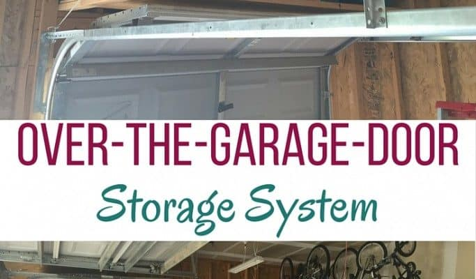 DIY: Over-The-Garage-Door Storage System