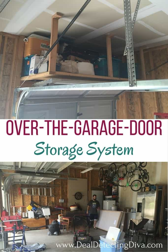 DIY: Over-The-Garage-Door Storage System