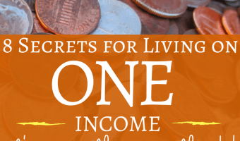 8 Secrets for Living On ONE Income