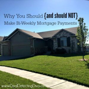 Why You Should {and Should NOT} Have a Bi-Weekly Mortgage Payment Program