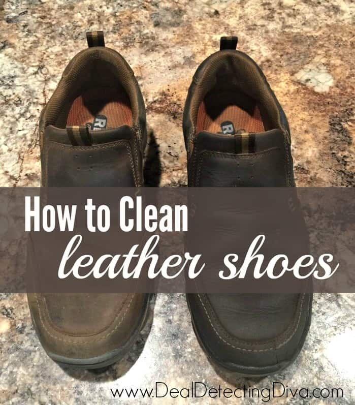 Diy how to clean leather shoes using one ingredient heart hook home - How to clean shoes ...
