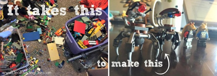 It Takes This to Make This: The Invasion of the LEGOs