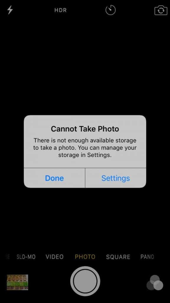 how to get rid of facebook storage on iphone