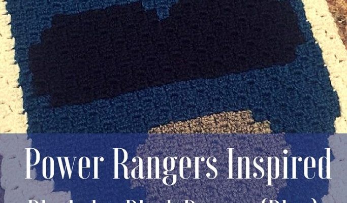 Power Rangers C2C Crochet Graphgan Pattern – Block by Block (Blue)