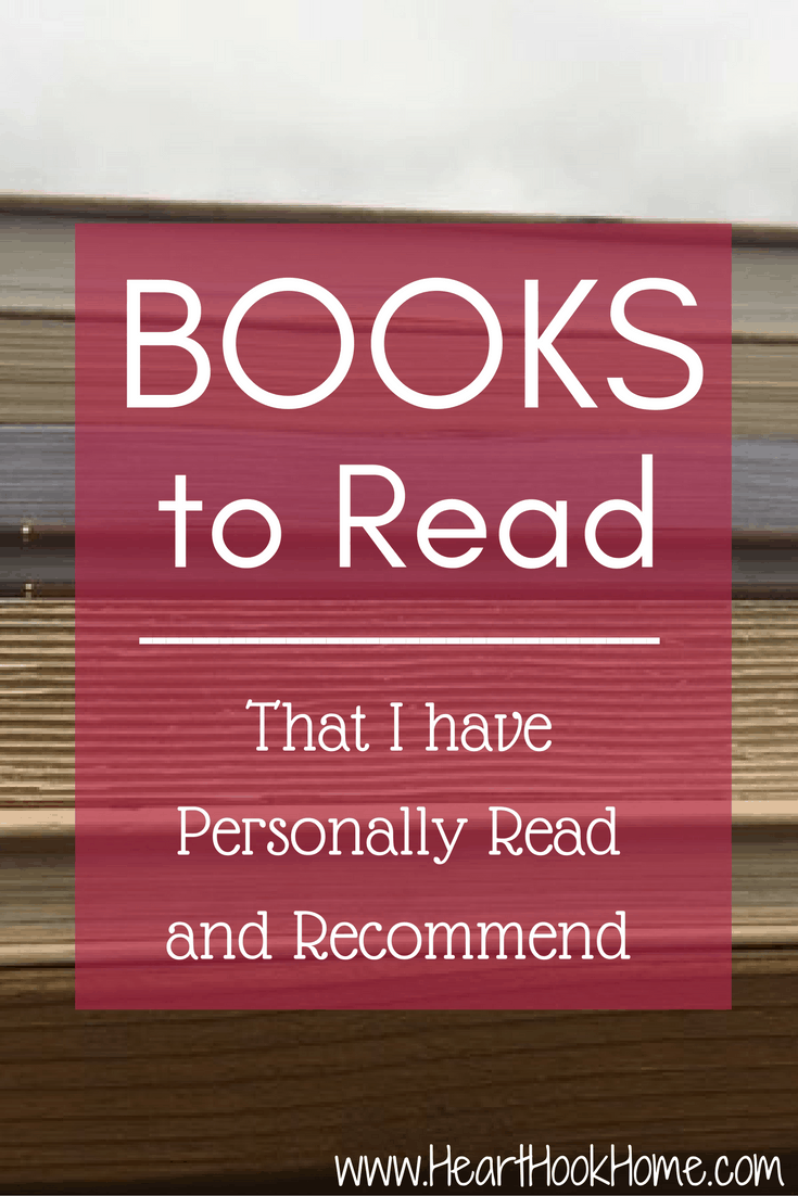 Books to Read (That I have Personally Read and Recommend)