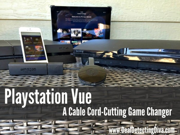 Playstation Vue :: A Cord-Cutting Game Changer
