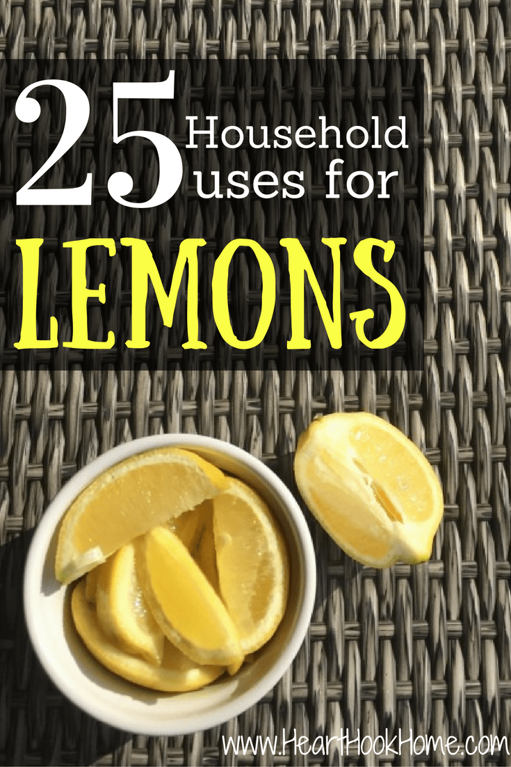 25 Household Uses for Lemons