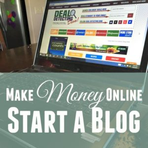 Ways to Make Money Online (Start a Blog)