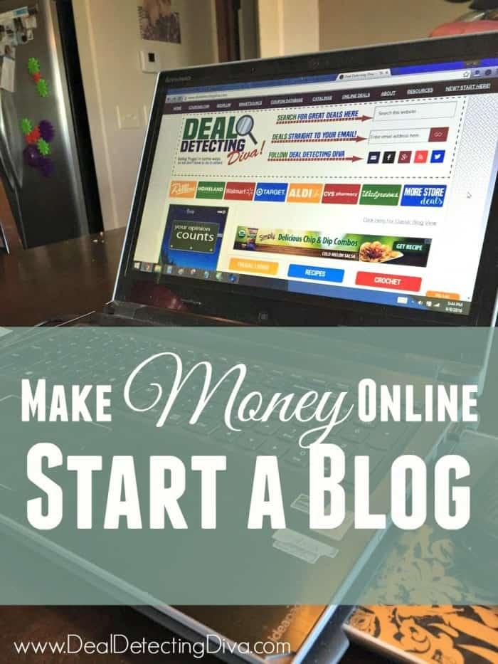 Ways to Make Money Online (Start a Blog)