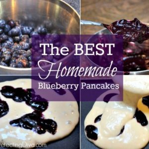 The BEST Homemade Blueberry Pancake Recipe (Freezer Friendly!)