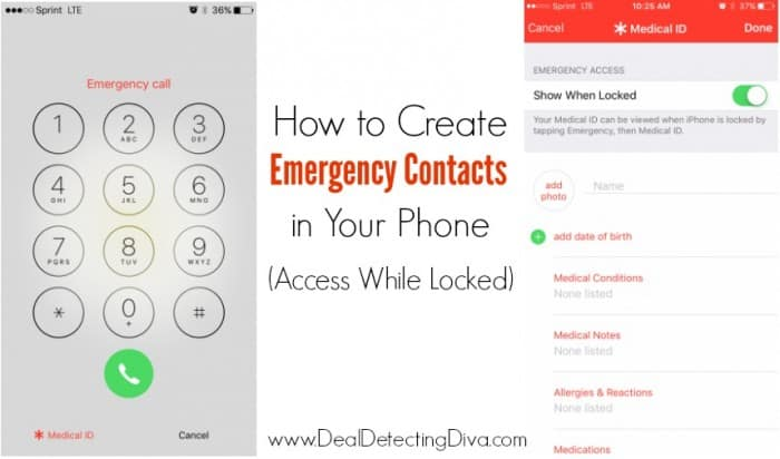How to Create Emergency Contacts in Your Phone (to Access While Locked)