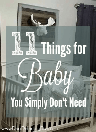 11 Things for Baby You Simply Don't Need