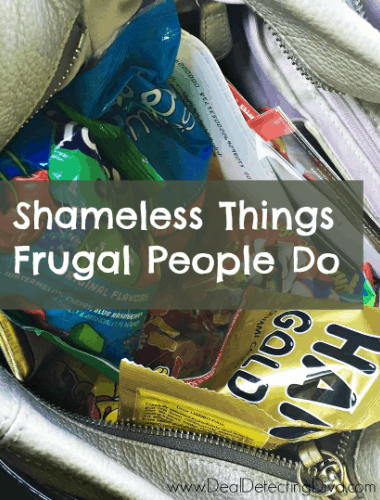 Shameless Things Frugal People Do