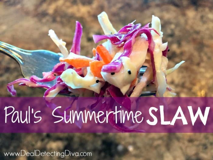 Paul's Summertime Slaw Recipe