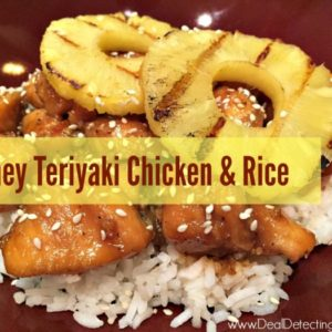 Honey Teriyaki Chicken & Rice Recipe (Quick, Easy and Delish!)