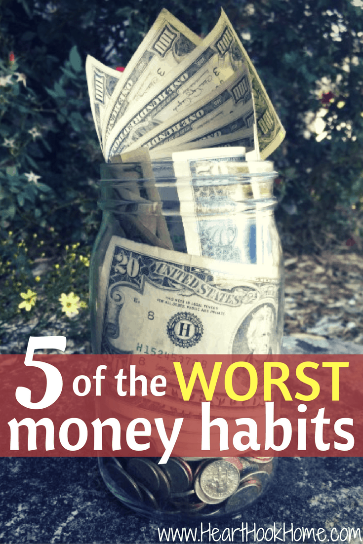 5 of the Worst Money Habits