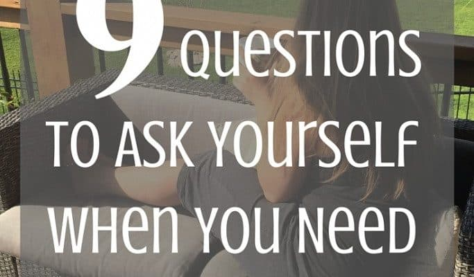9 Questions to Ask Yourself When you Need Motivation