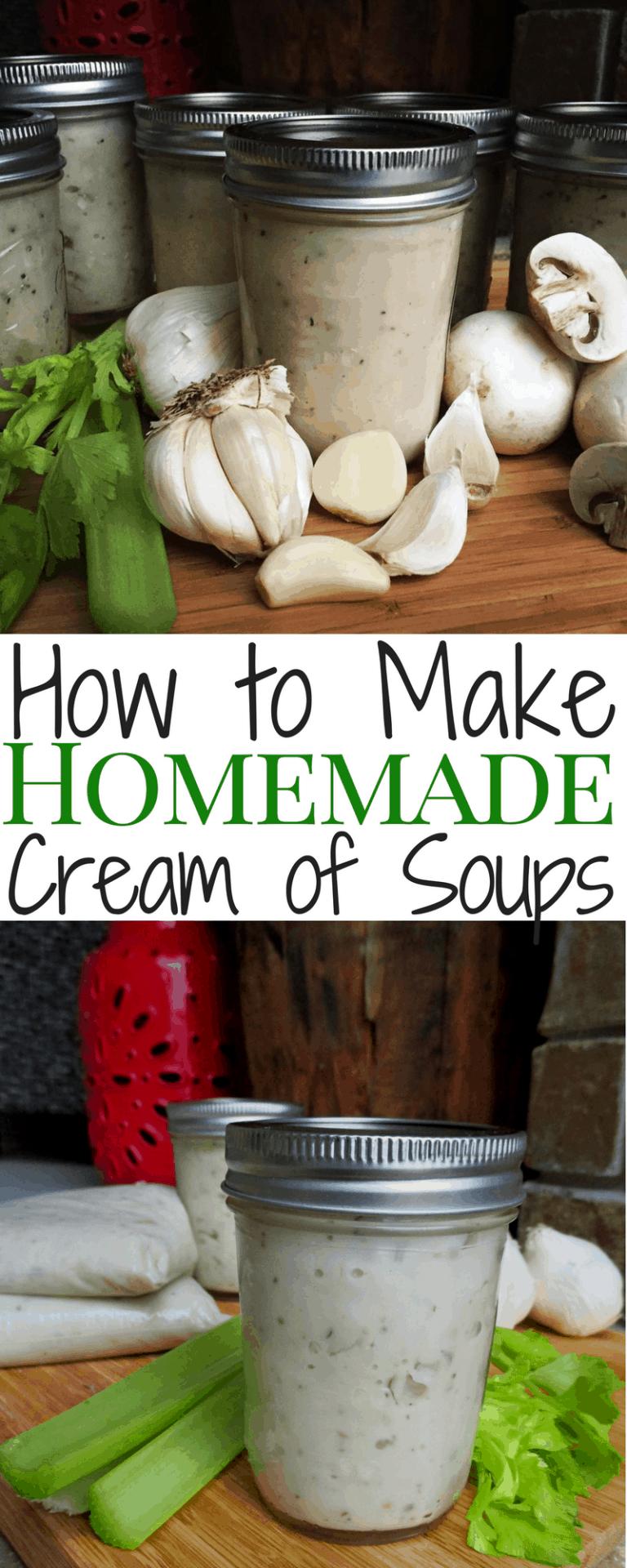 "Homemade ""Cream of"" Soups (Chicken, Celery, Mushroom)"
