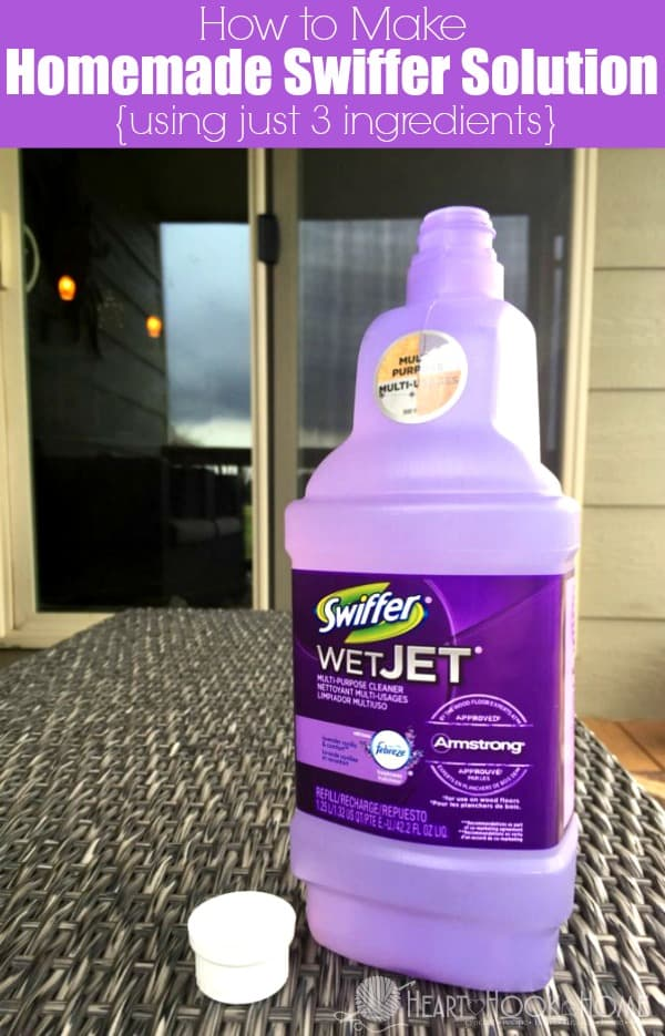 Make Your Own Homemade Swiffer Cleaning Solution