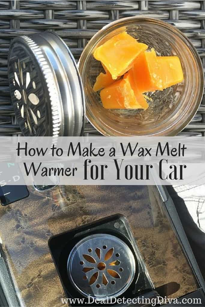 How to Make a Wax Melt Warmer for Your Car