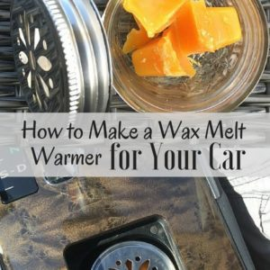 How to Make a Wax Melt Warmer for Your Car (GENIUS!)