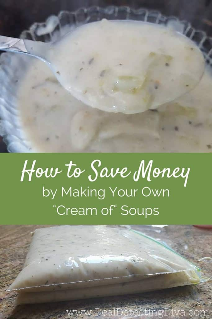 """How to Save Money by Making Homemade """"Cream of"""" Soups: Cream of Chicken, Celery, and Mushroom!"""