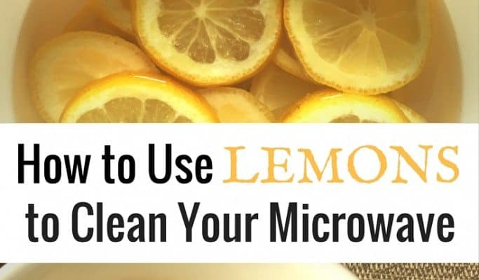 How to Clean Your Microwave Using NO Chemicals {or scrubbing}