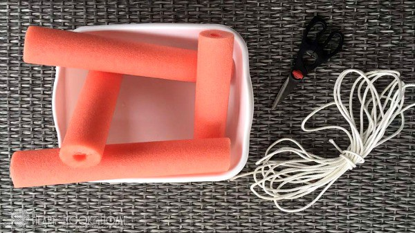 How to Use Pool Noodles to Make a Floating Cooler