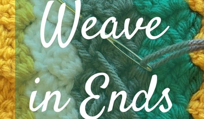 How to Weave in Yarn Ends {So They Don't Come Out}