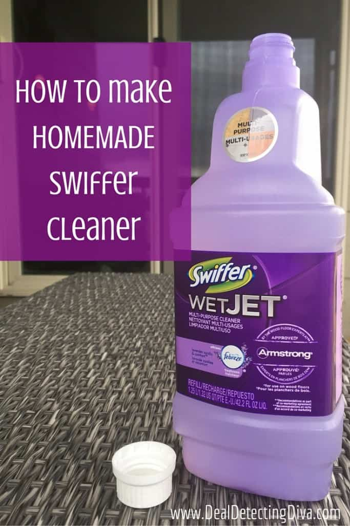How to make HOMEMADE Swiffer Refill Cleaner