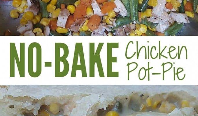 No-Bake Chicken Pot Pie