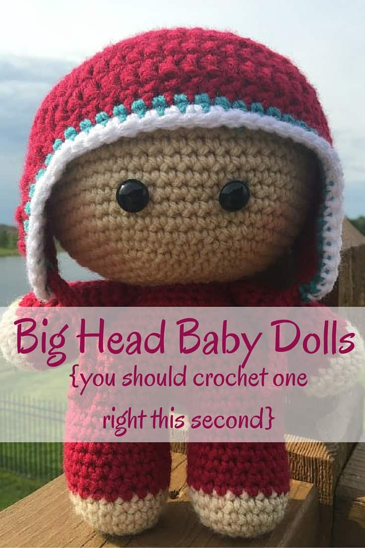 What Is A Big Head Baby Doll (and Why You Should Crochet One)