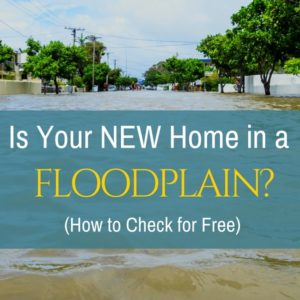 Is Your New Home in a Floodplain? + How to Check for Free