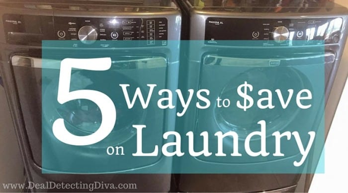 5 Ways to Save Money on Laundry