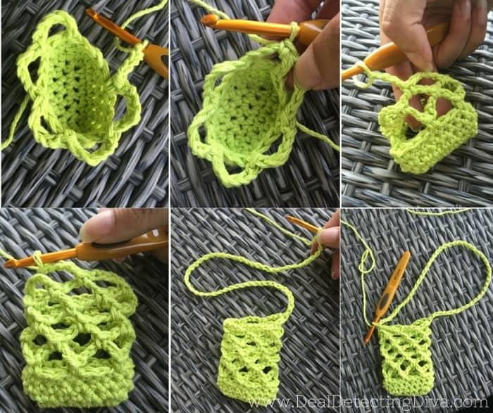 Scentsy Travel Tin Air Freshener Holder for Car {FREE Crochet Pattern}