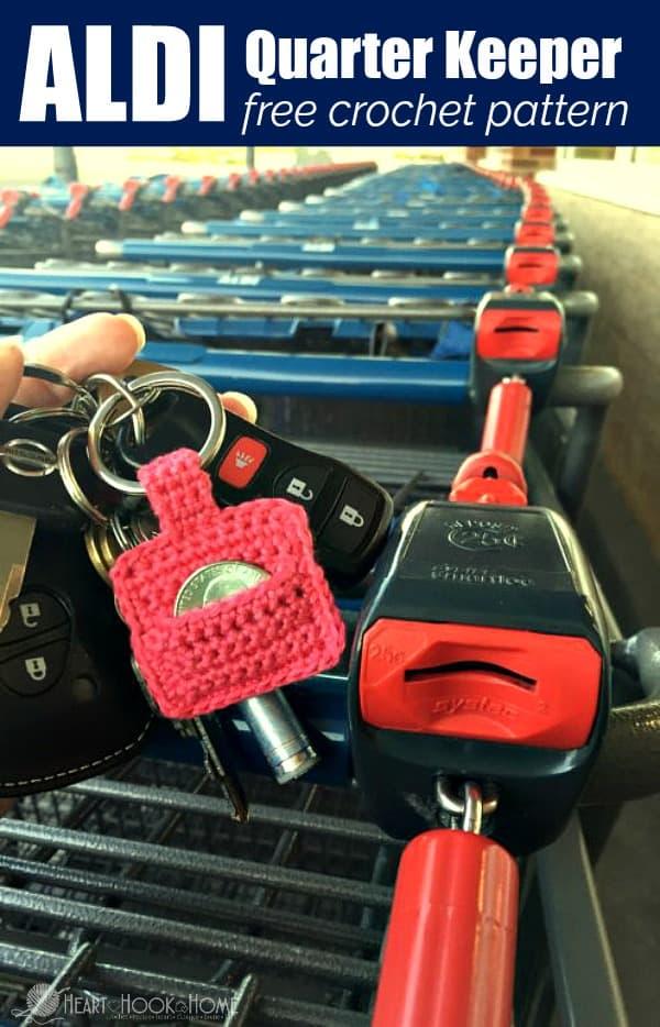How to Make an Aldi Quarter Keeper Keychain