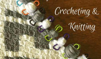 Use Industrial Clips for Yarn Bobbins in Crochet and Knitting