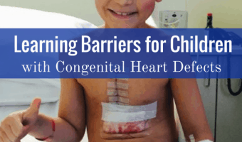 Living With CHD: Learning Barriers for Children with Congenital Heart Defects