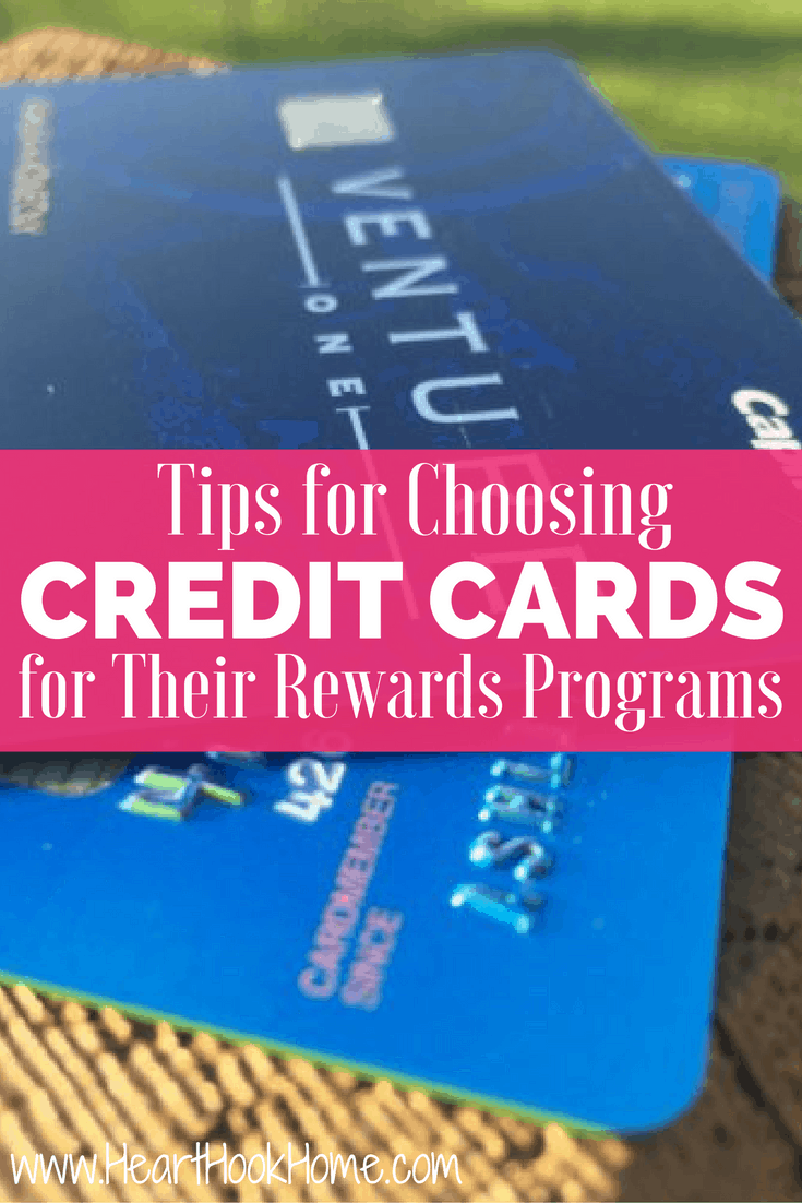 Tips for Choosing Credit Cards (for Their Rewards Programs)