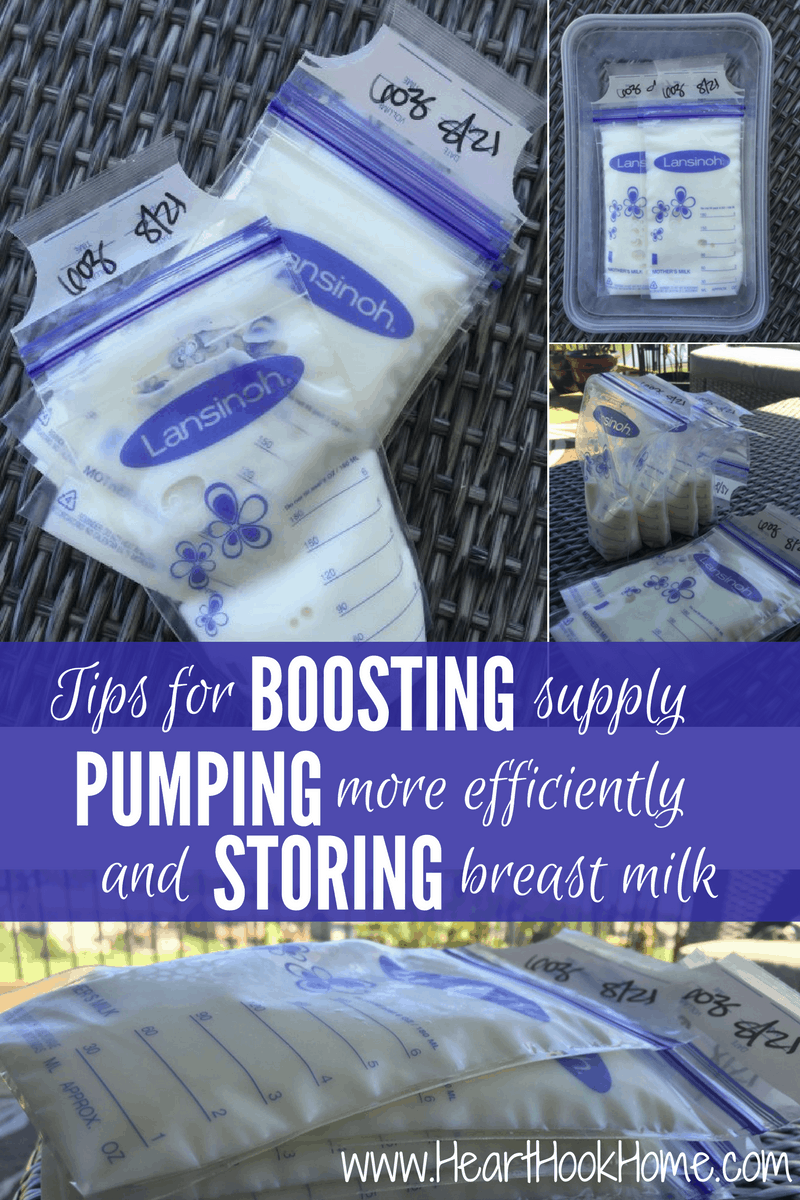 Breast Milk Tips For Increasing Supply, Pumping And Storing-4368